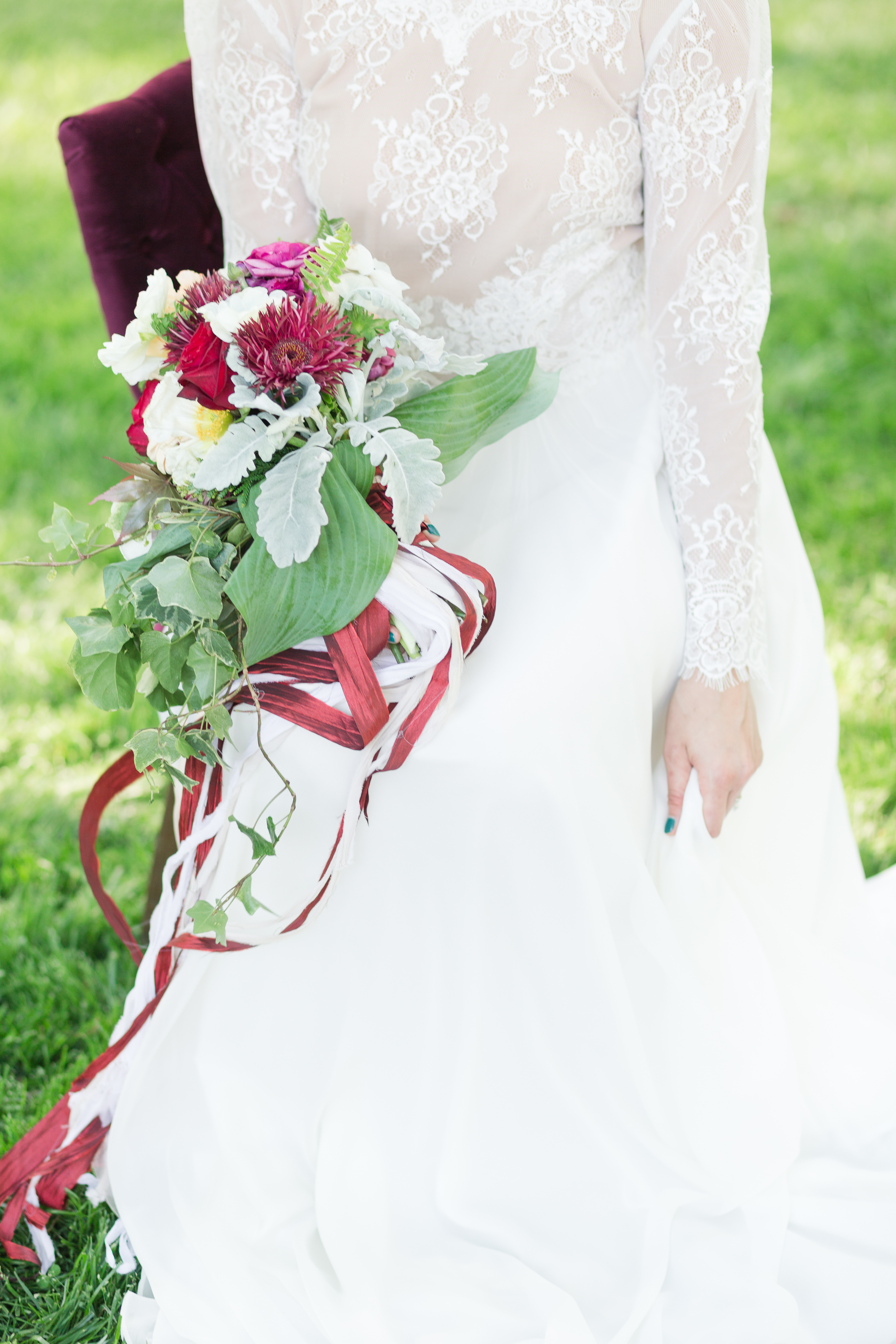 Raleigh wedding planner, Services, Jamie Blow Photography, Downtown Raleigh Wedding, bride with burgundy and blush bouquet