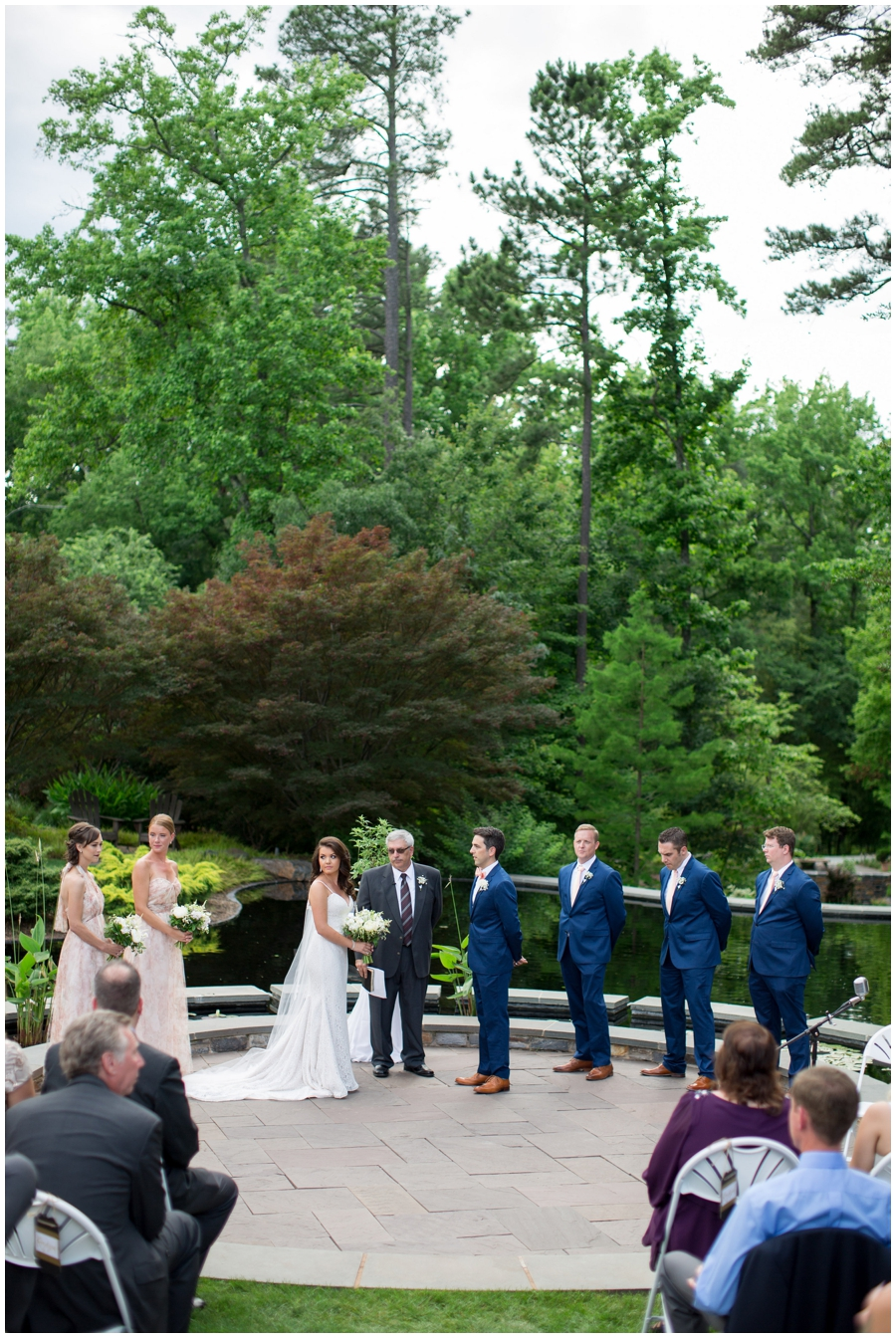 Sarah P Duke Memorial Gardens Wedding