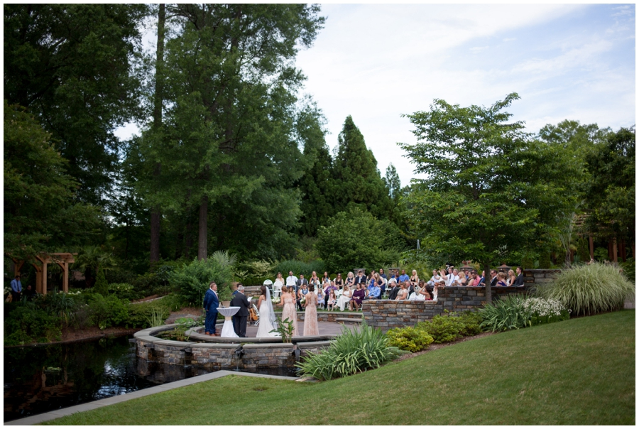 Raleigh Weddings, Sarah P Duke Memorial Gardens