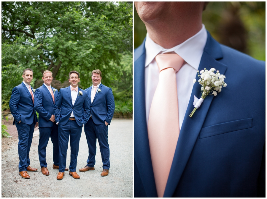 groomsmen and boutonniere