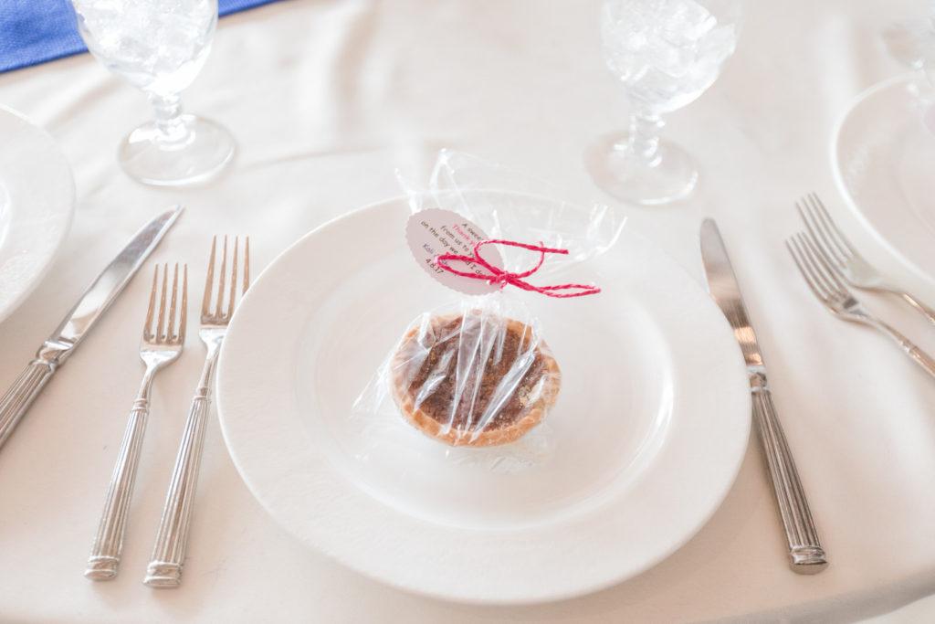 Pecan Pie Wedding Favor
