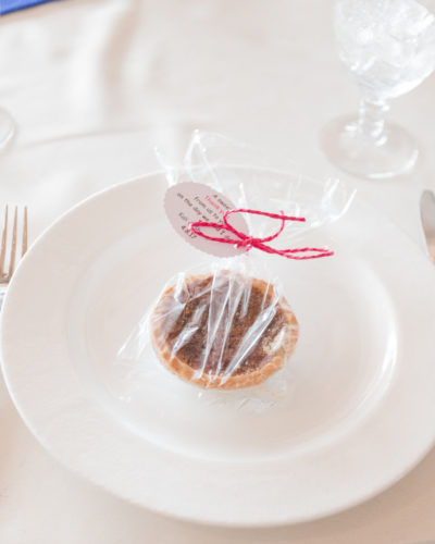 Pecan Pie Wedding Favor