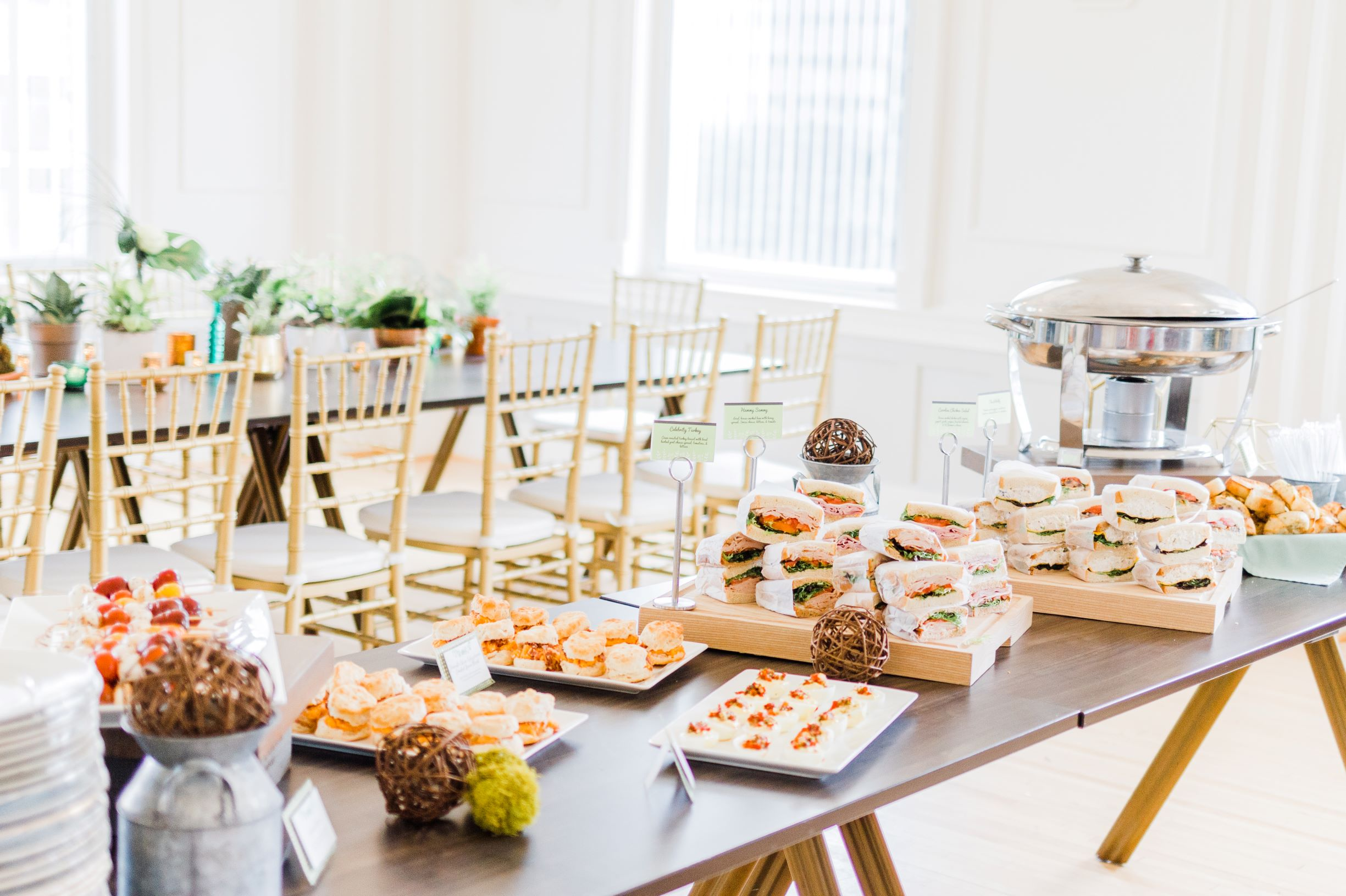 images by amber robinson, baby shower, the cannon room, southern harvest catering